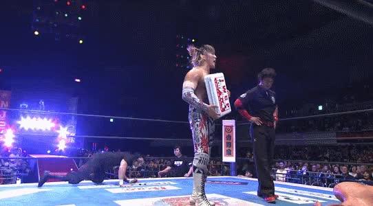 LARIATOOOO!!, LARIATOOOO!! - #NJPW #njdest GIFs