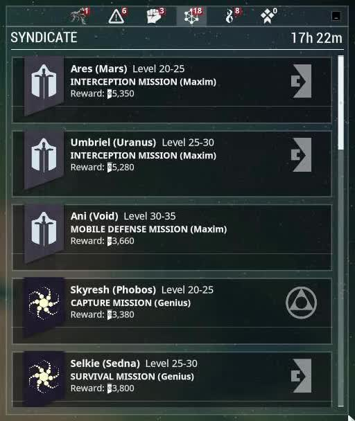 syndicate missions