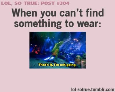 Watch and share Something To Wear GIFs and Lol That Is Me GIFs on Gfycat