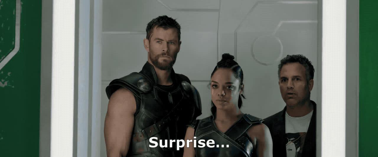 loki, ragnarok, surprise, thor, Loki Surprise GIFs