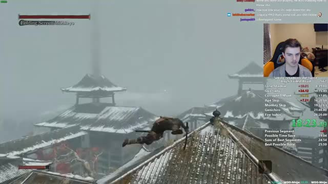 Sekiro Any% Speedrun in 25:39 (World Record)