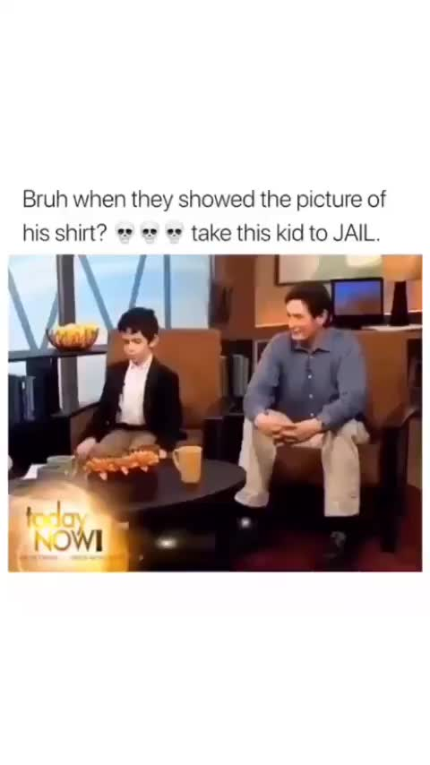 This kid goes into such depth... GIFs
