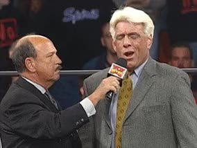 Watch and share Gene Okerlund GIFs and Ric Flair GIFs on Gfycat