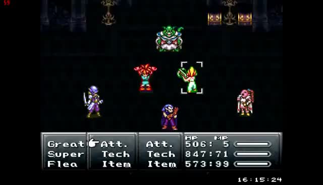 Watch Chrono Trigger Tech - Luminaire GIF on Gfycat. Discover more related GIFs on Gfycat