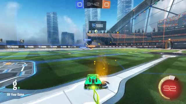 Watch Goal 1: Frazier GIF by Gif Your Game (@gifyourgame) on Gfycat. Discover more Frazier, Gif Your Game, GifYourGame, Rocket League, RocketLeague GIFs on Gfycat