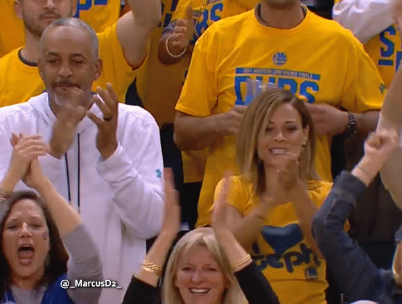 Sonya and Dell Curry reaction GIFs