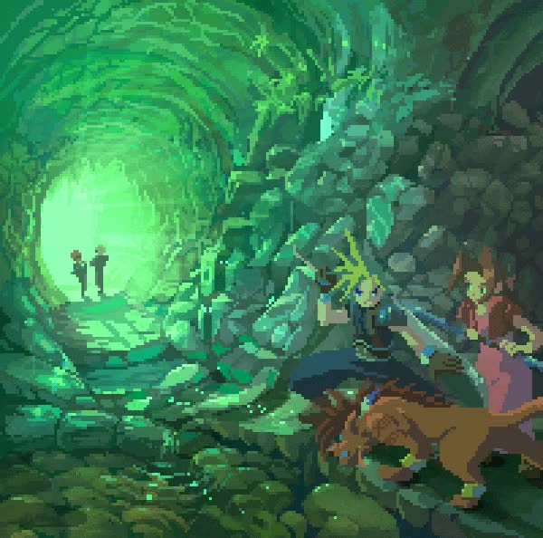 Watch and share Final Fantasy GIFs and Retrogaming GIFs by Hazuki on Gfycat