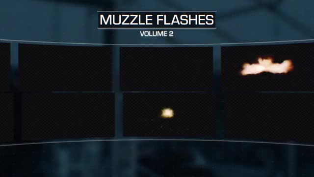 Watch and share Muzzle Flash Vol 2 GIF GIFs by ActionVFX on Gfycat