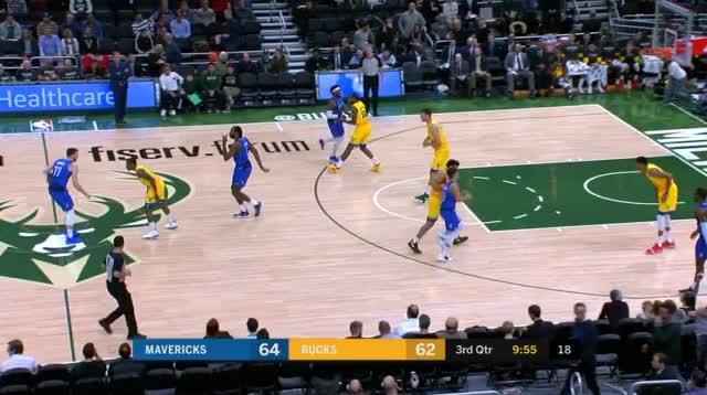 Watch Slip GIF by @prejuce on Gfycat. Discover more Dallas Mavericks, Milwaukee Bucks, basketball GIFs on Gfycat