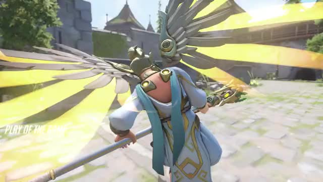 Watch and share Overwatch GIFs and Mercy GIFs by FyreBelle on Gfycat