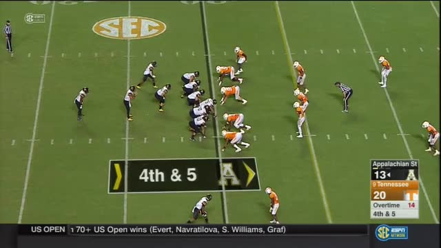 Watch 2016 Tennessee vs Appalachian State: Defense play by play GIF on Gfycat. Discover more tennessee vols, tennessee volunteers GIFs on Gfycat