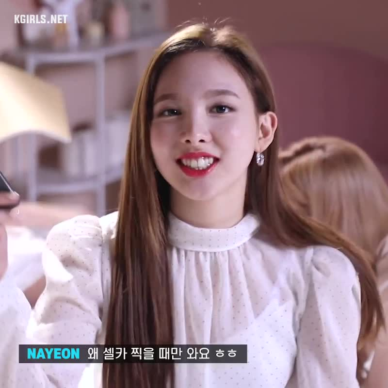 celebs, kpop, nayeon, twice, nayeon-twice-making-1-www.kgirls.net GIFs