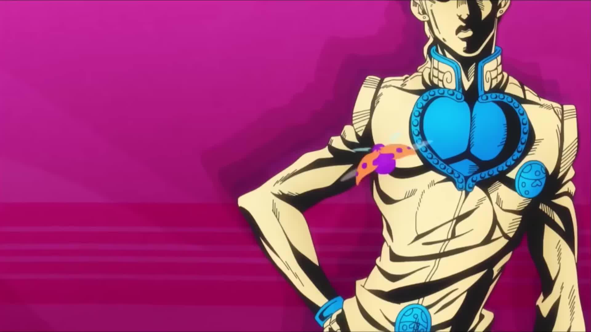 Jojo S Bizarre Adventure Golden Wind Anime Pv Gif Gfycat
