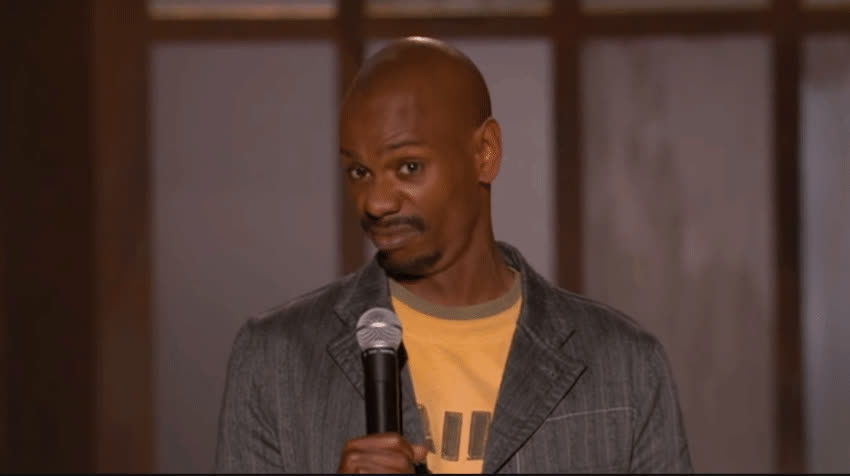 chappelle, chappelle's show, chappelleword, comedy, dave chappelle, netflix, stand-up comedy, word, Chappelle - Word?! GIFs