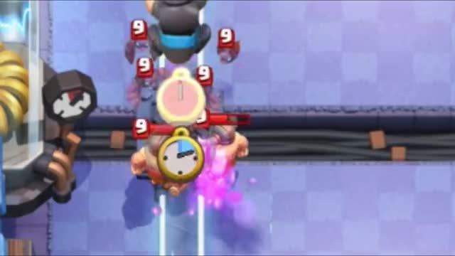 Watch and share Mega Knight Bats Cycling Defense GIFs by Clash Royale Kingdom on Gfycat