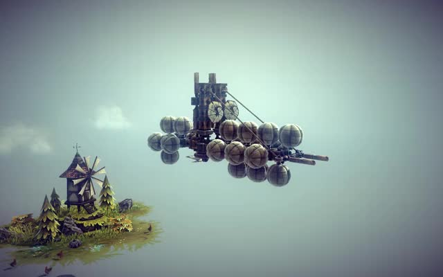 Watch and share Before Playing Guns Of Icarus I Made A Little Air-ship In Besiege, Nothing Impressive But Now I Wonder What It'd Look Like In This Game Lol (reddit) GIFs by tactical_hog on Gfycat
