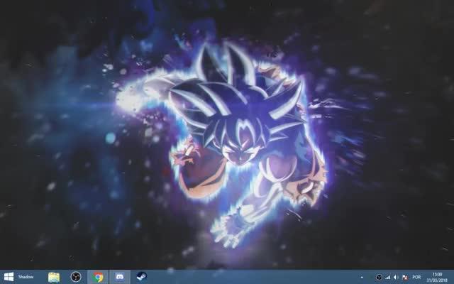 Watch Desktop GIF by @atareo on Gfycat. Discover more Anime, DBS, Goku, UI, Ultra Instinct, Wallpaper Engine, atareo, swshadows GIFs on Gfycat