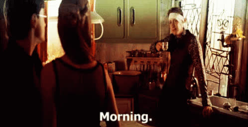 Harrypotter Morning GIFs