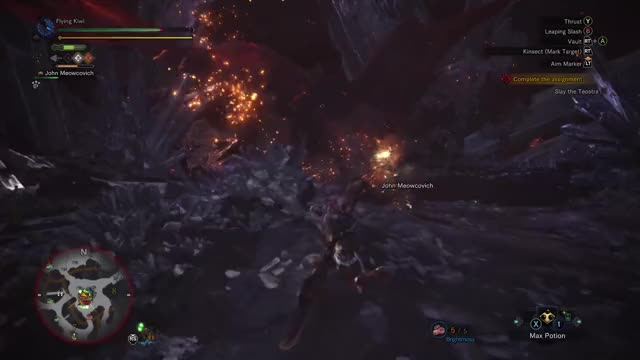 Watch MHW Fatality  GIF by Gamer DVR (@xboxdvr) on Gfycat. Discover more Flying Kiwi 00, MONSTERHUNTERWORLD, xbox, xbox dvr, xbox one GIFs on Gfycat