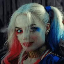 Watch and share Harley Quinn GIFs and Wink GIFs on Gfycat