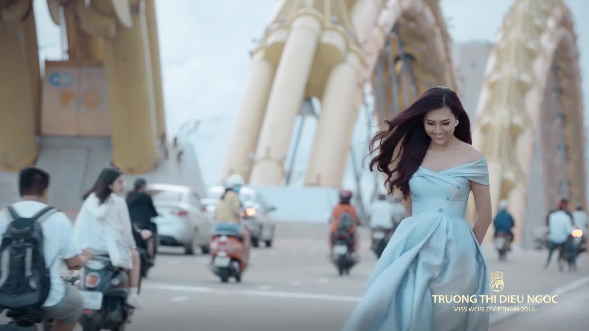 Hoa khôi Diệu Ngọc chính thức được cấp phép dự thi Miss World 2016 ảnh 2
