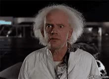 Watch Doc Brown Back To The Future GIF on Gfycat. Discover more related GIFs on Gfycat