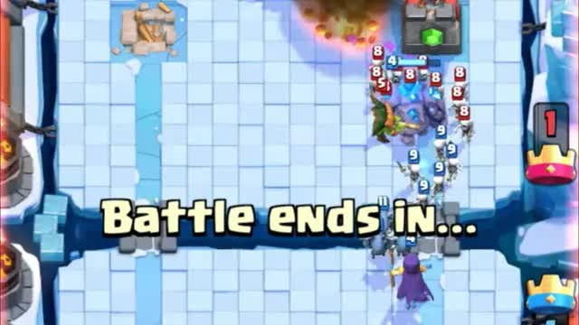 Watch and share Golem Witch Arena 8 Deck (2) GIFs by Clash Royale Kingdom on Gfycat
