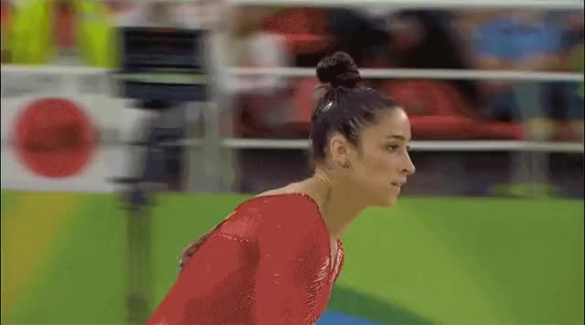 Watch and share Aly Raisman GIFs and Gymnastics GIFs on Gfycat