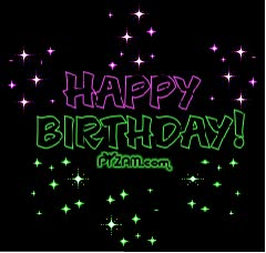 Watch and share HAPPY 25th BIRTHDAY DAWNA WHITEFEATHER animated stickers on Gfycat