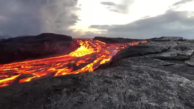 Watch and share Fast Flowing Lava GIFs and Hot GIFs by Yusuf on Gfycat