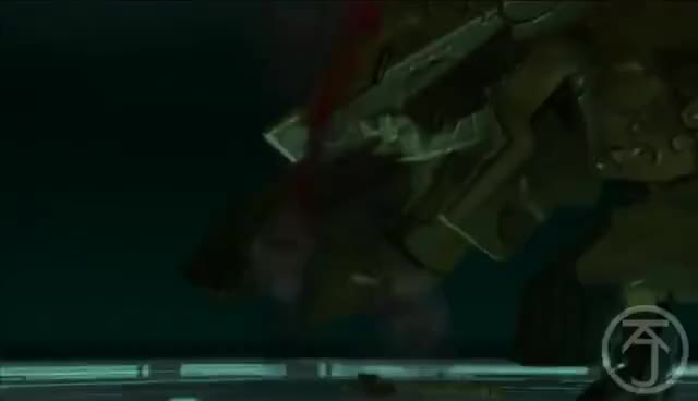 Watch and share Metal Gear Solid 2 - SOLIDUS VS METAL GEAR RAY GIFs on Gfycat