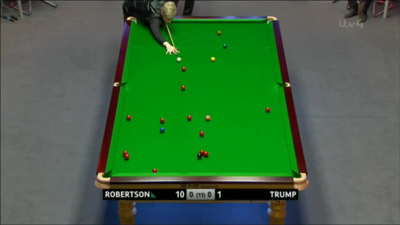 snooker, Gfy of the day: Lovely fluke pot by Neil Robertson (reddit) GIFs