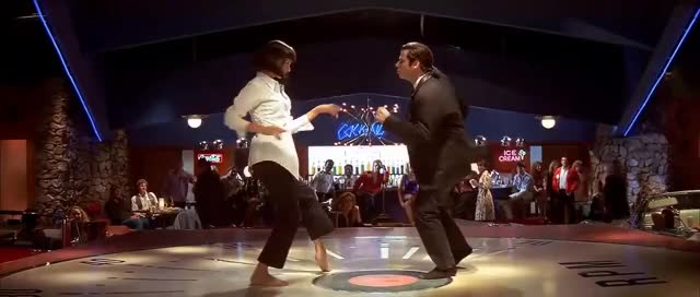 Watch and share Tarantino GIFs and Travolta GIFs on Gfycat