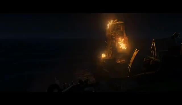 HTTYD 1 ''Nightfury gets shot down'' HD GIFs