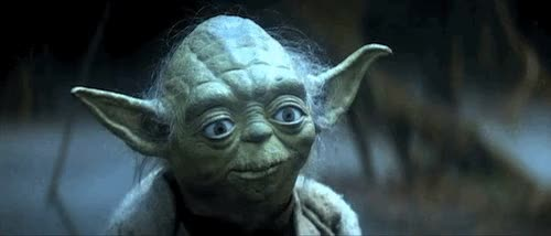 Watch and share Yoda Luke GIFs on Gfycat