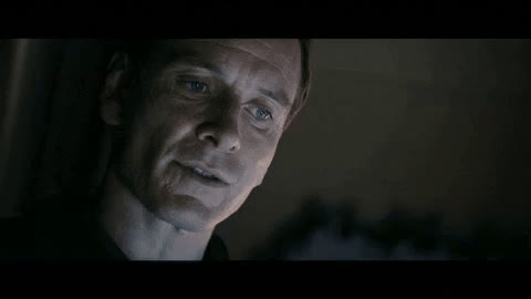 Alien, David, Funny, Michael Fassbender, Movie, Shush, be quiet, hush, quiet, shhh, shut up, silence, Shhhh GIFs