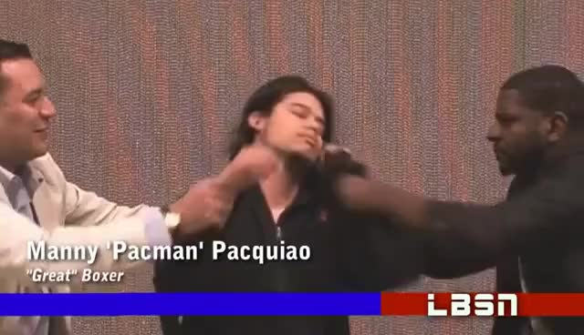 Watch Manny Pacquiao interview on LSBN GIF on Gfycat. Discover more related GIFs on Gfycat