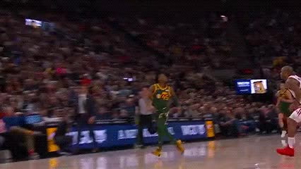 Watch and share Donovan Mitchell And Jae Crowder — Utah Jazz GIFs by Off-Hand on Gfycat