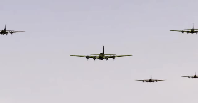 Watch this war GIF by HOT TIN CAT (@jezbot404) on Gfycat. Discover more 2018, B17, Dog, Dogfight, Flyingfortress, Spitfire, WW2, WWII, War, Yes, air, aviation GIFs on Gfycat