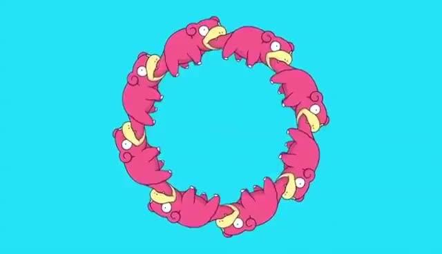 Watch Slowpoke Circle GIF on Gfycat. Discover more Pokemon GIFs on Gfycat
