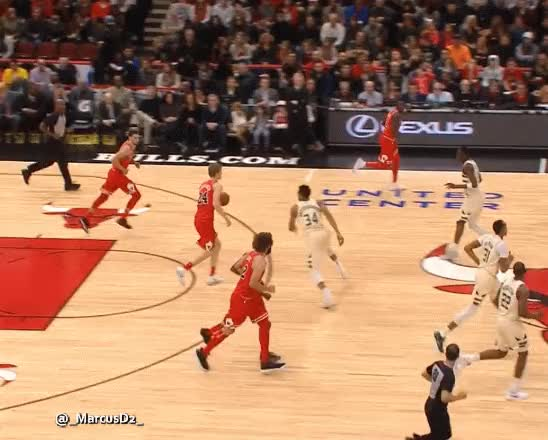 Watch and share Lauri Markkanen Handles GIFs by MarcusD on Gfycat