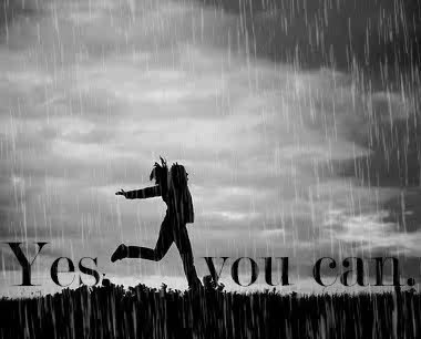 Watch and share Yes, You Can. #lawofattraction #quotes #rain #animated #animation GIFs on Gfycat
