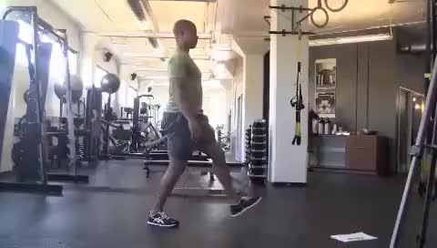 Watch and share Lunges GIFs on Gfycat