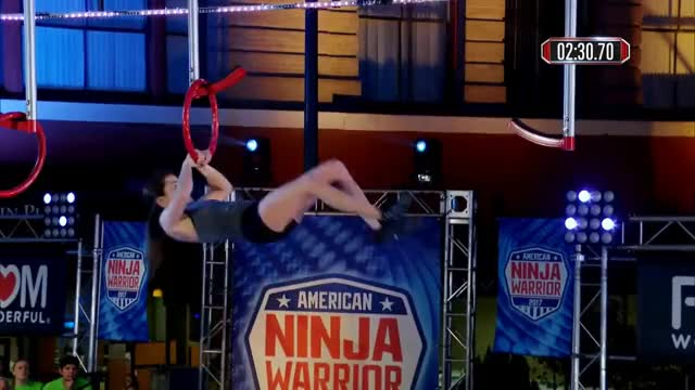 Kacy Catanzaro at the San Antonio City Finals - American Ninja Warrior 2017