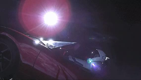 Watch spacex starman aBr2kKAHN6M GIF on Gfycat. Discover more related GIFs on Gfycat