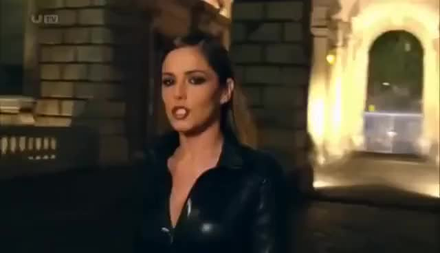 Watch Cheryl Cole in full leather catsuit outfit GIF on Gfycat. Discover more cheryl GIFs on Gfycat