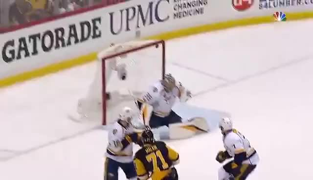 Watch Pens roll past Preds, 6-0, take 3-2 series lead GIF on Gfycat. Discover more related GIFs on Gfycat