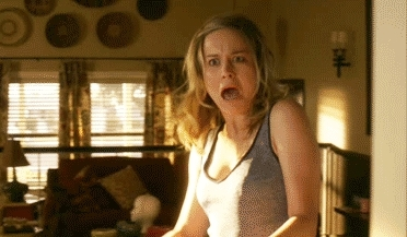 brie larson, celebs, oh my, oh my god, oh my gosh, omg, scream, Brie Larson GIFs