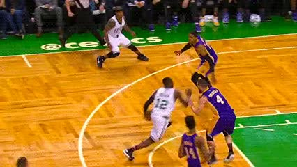 Watch and share Terry Rozier — Boston Celtics GIFs by Off-Hand on Gfycat
