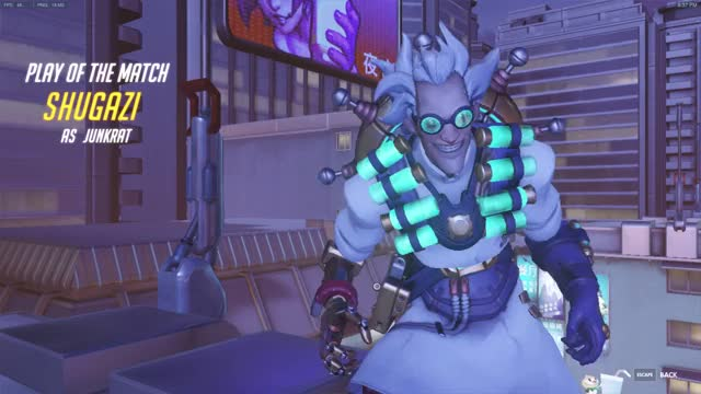 Watch and share Overwatch GIFs and Junkrat GIFs by shugazi on Gfycat